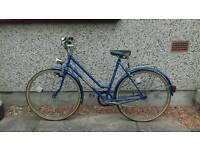 Electric Blue Vintage Bike (70's) style