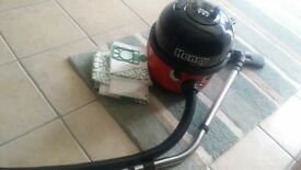 Henry hoover. hardly used