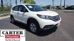 2014 Honda CR-V LX + AWD + ACCIDENT FREE + LOCAL + CERTIFIED!