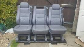 Leather Van Crew seats transit, vivaro, sprinter