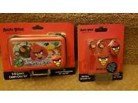 Angry Birds 3D Gamer Case & Ear Buds