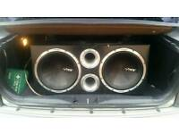 """vibe 12"""" double subwoofer"""