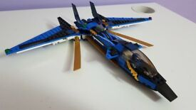 LEGO Ninjago 9442 – Jay's Storm Fighter - Mounted – Great value – Collector