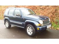 jeep cherokee ltd 2006 2.8 diesel 4x4 mint condition full leather and electrics inc sat nav BARGAIN