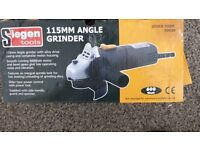 REDUCED £ FOR QUICK SALE Angle Grinder Siegen 115MM S0530