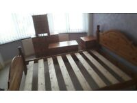 Bed and bedroom furniture