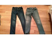 GAP skinny jeans size 7 years