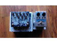 Reverb & Delay pedals