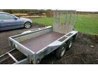 8x4 ifor williams plant trailer 2.7t