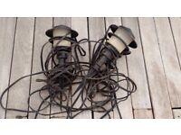 2 Garden Lamps