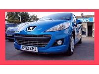 35000 Miles ----- 2012 Peugeot 207 active 1.4 petrol ----- alternate for corsa micra yaris polo clio