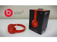 Beats Solo 2 By Dr. Dre in Red