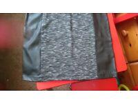 H&M black dress size 10 brand new