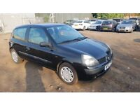 2002 Renault Clio Authentique 1.2
