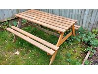 Garden bench..... great for bbqs and parties...