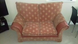 2 Seater sofa (red)