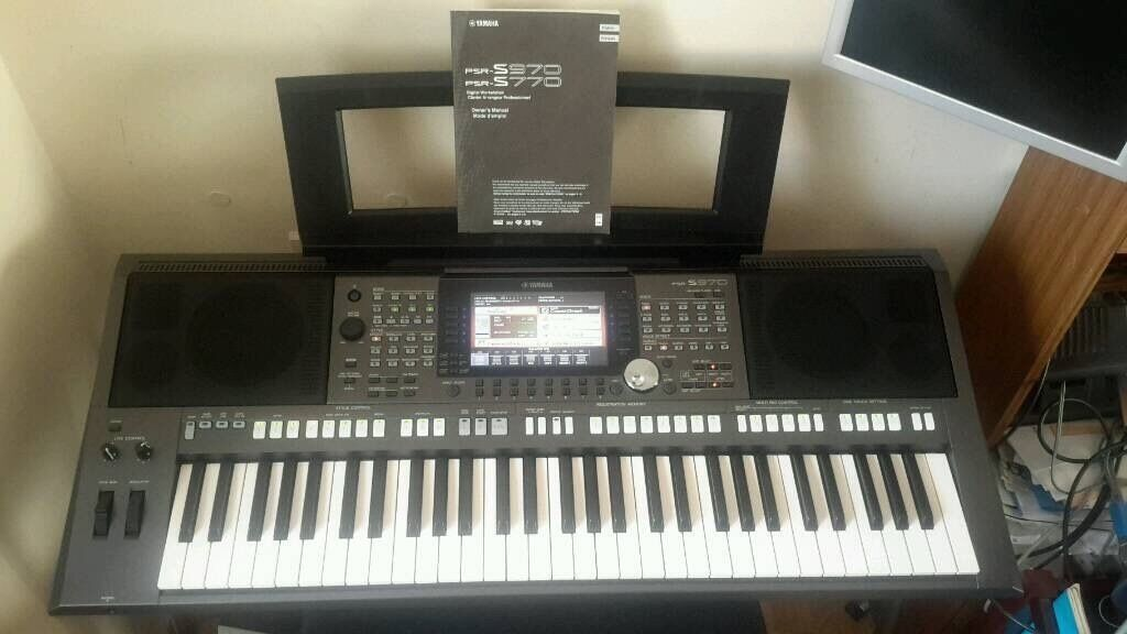 yamaha psr s970 keyboard unused in mint condition in. Black Bedroom Furniture Sets. Home Design Ideas