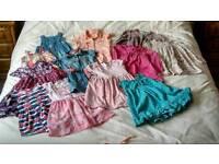 Large bundle girls clothes age 3-4