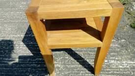 Very heavy beach wooden table