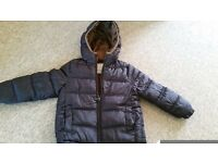 ZARA 4-5 y winter puff jacket