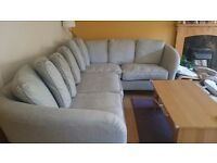 Large, perfect condition, comfy corner sofa for sale