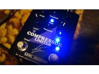 Carl Martin Andy Timmons signature dual Compressor & Limiter boxed