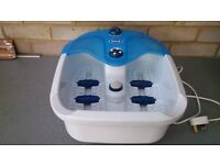 Scholl Footspa with massage rollers
