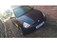 Ford KA 70k miles MOT till April great first car selling due to work requiring bigger car.