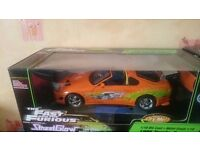 Fast and the furious1:18 streetglow supra