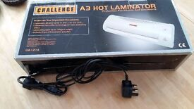 Aw Hot Laminator - Full Working Order - Complete with Leads