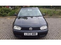 2003 AUTOMATIC GOLF 1.6 SPARES OR REPAIRS