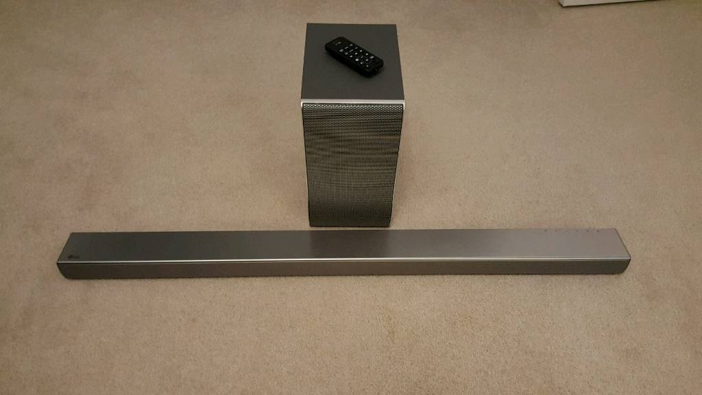 Lg SH7 4.1 Wireless soundbar and subwoofer