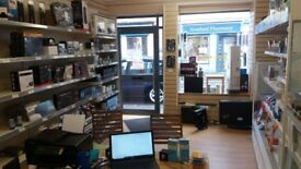 *£58 week* Shop to let rent in Dalry, currently computer Ecig shop, perfect for sweet shop etc