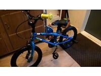 5-7 yrs boys bike in excellent condition (no rust)