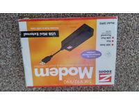 Zoom 3095 V.92 USB 56Kbit/s modem + free gift