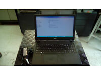 ACER ASPIRE ES1-533 LAPTOP 8 GB RAM,HARD DRIVE HAS BEEN REMOVED