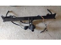 Vauxhall combo tow bar 206 plate