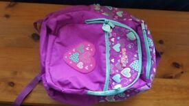 Smiggle purple school bag/rucksack