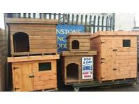 Dog and cat kennels made from stock and sheds from 25.00