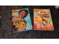 NVQ health and social care books