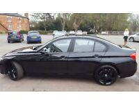 Stunning metallic black BMW 320d Efficient Dynamics