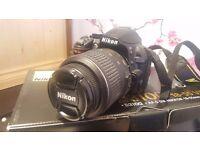 Nikon D3100 Digital SLR Camera - Black (18-55mm VR Kit )