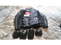 RST Wmens Leather Motorcycle Jacket