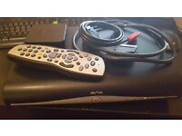 Sky+HD 3D on demand box + remote +cables. Model DRX890-C