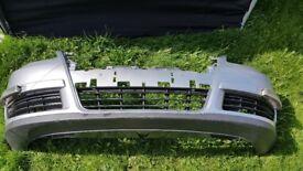 VW passat b6 2005-2010 Front bumper silver LA7W