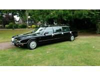 Weddings or Funeral hire, jaguar limousine also a wheelchair vehicle available for hire.