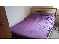 Tarva double bed - Malvik double mattress