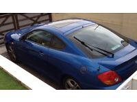 2004 Hyundai coupe V6 2.7 ltr 54 reg
