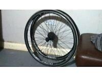 Giant race wheels