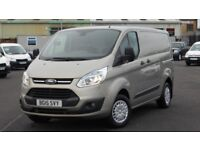 2015 FORD TRANSIT 290 CUSTOM 125 BHP TREND EDITION. ONLY 28000 MILES. EVERY EXTRA. STUNNING VAN.